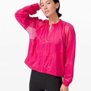 lululemon with the breeze jacket